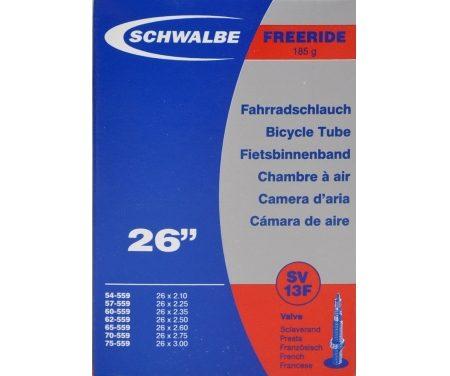 Schwalbe slange 26 x 2,10-3,00 med Racer ventil SV13F
