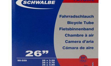 Schwalbe slange 26×3,50/4,80 med Racer ventil SV13J
