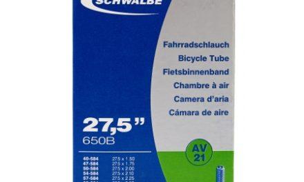 Schwalbe slange 27,5×1,50/2,40 med Auto ventil AV21