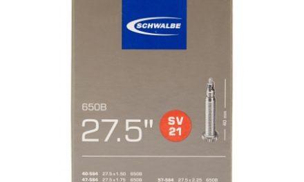 Schwalbe slange 27,5×1,50/2,40 med Racer ventil SV21