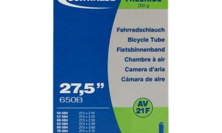 Schwalbe slange 27,5×2,10/3,00 med Auto ventil AV21F