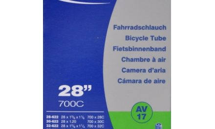Schwalbe slange 700 x 28-45c med Auto ventil AV17