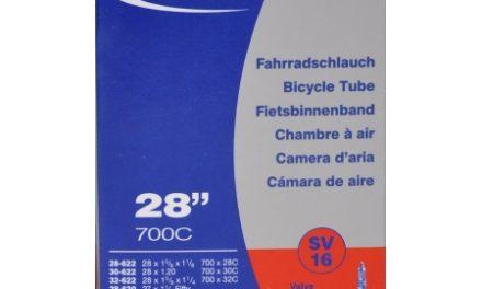 Schwalbe slange 700×28-32c med Racer ventil SV16
