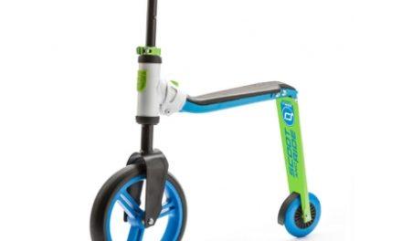 Scoot&Ride 2 i 1 løbehjul/løbecykel – Highwaybuddy – Blå/grøn