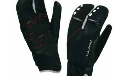Sealskinz Highland XP Claw – cykelhandske – Sort
