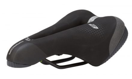 Selle Italia Garda Lady E-Bike Superflow – Sadel – Sportourer – Sort