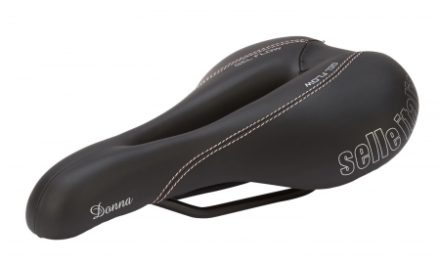 Selle Italia Lady Donna – Cykelsadel – Dame – Sort
