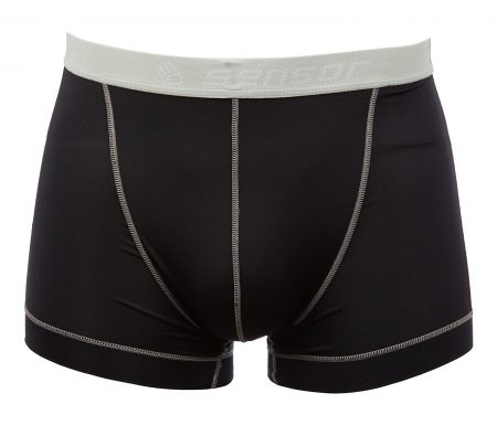 Sensor Coolmax Fresh – Boxer shorts til herrer – Sort