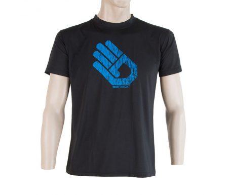 Sensor Coolmax Fresh PT Hand – T-shirt med korte ærmer – Sort