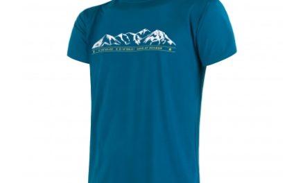 Sensor Coolmax Fresh PT Mountain – T-shirt med korte ærmer – Blå