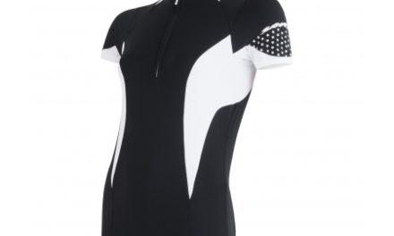 Sensor Cyklo Race – Cykletrøje med korte ærmer – Dame – Sort/hvid