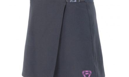 Sensor Luna Skirt – Cykelnederdel m. shorts og pude – Grå