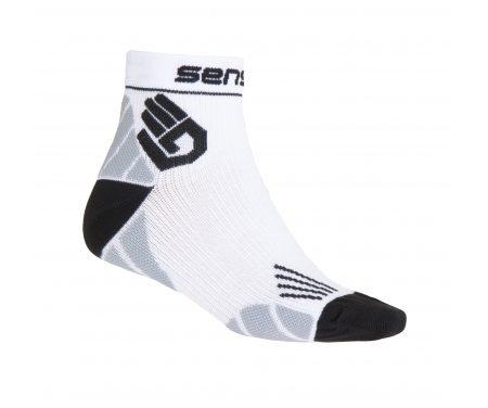 Sensor Marathon – Lette løbestrømper – Hvid