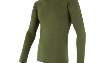 Sensor Merino Active – Merinoulds undertrøje med lange ærmer – Grøn