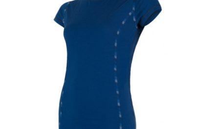 Sensor Merino Air – Dame svedundertrøje med korte ærmer – Blå