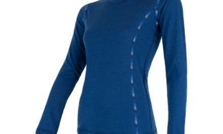 Sensor Merino Air – Dame svedundertrøje med lange ærmer – Blå