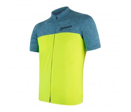 Sensor Motion FZ Jersey – Cykeltrøje med korte ærmer – Blå/Gul
