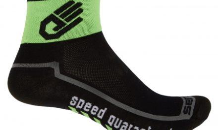 Sensor Race lite – Cykelstrømper – Sort/grøn