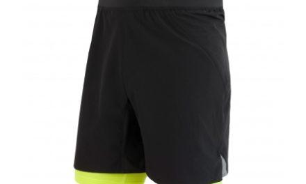 Sensor Trail – Løbeshorts med tights – Sort