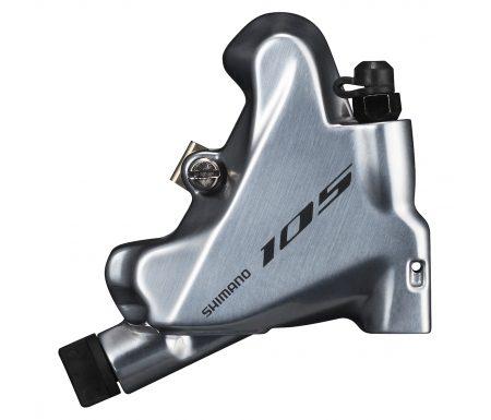 Shimano 105 – Bremsekaliber sølv bag BR-R7070-R – Hydraulisk