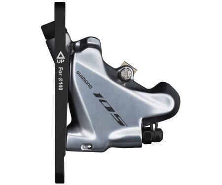 Shimano 105 – Bremsekaliber sølv front BR-R7070-F – Hydraulisk