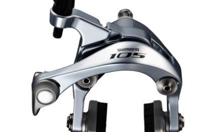 Shimano 105 Bremseklo Sølv 5800 til front center montering