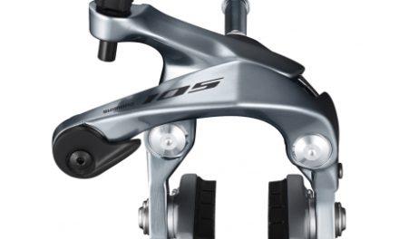 Shimano 105 – Bremseklo sølv BR-R7000 – til baghjul – Centerbolt