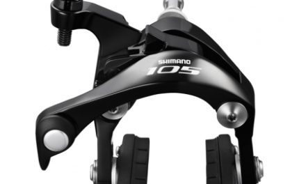 Shimano 105 Bremseklo Sort 5800 til bag center montering