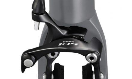Shimano 105 Bremseklo Sort 5800 til front direkte montering
