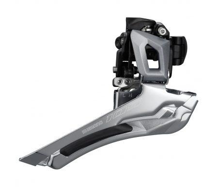 Shimano 105 Forskifter sølv – FD-R7000FS – til 2 x 11 gear –  til direkte montering