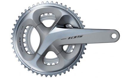 Shimano 105 kranksæt – FC-R7000 Sølv – 172,5 mm pedalarme