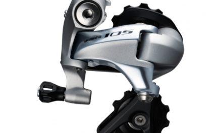 Shimano 105 RD-5800-SS bagskifter kort – Sølv til 2 x 11 gear
