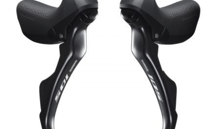 Shimano 105 STI grebsæt – Passer til 2 x 11 gear – ST-R7000-DPAL – Mekanisk bremser