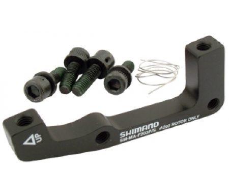 Shimano Adapter til forbremsekaliber – 203mm rotor – Post/Standard