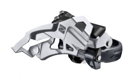 Shimano Alivio – Forskifter FD-M4000 – 3×9 gear MTB – Low clamp med bånd – 28,6-34,9mm