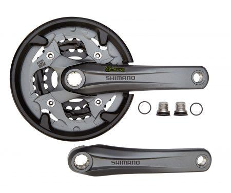 Shimano Alivio – Kranksæt FC-M4000 Sort Triple 40-30-22 tands – 175 mm pedalarme