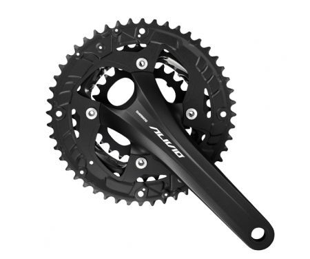 Shimano Alivio kranksæt Triple – Sort 44-32-22 tands 175 mm