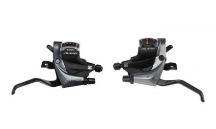 Shimano Alivio – Skifte- og bremsegrebsæt – 3×9 gear med klampe – Til mekanisk V-bremse
