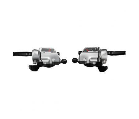 Shimano Alivio STI skifte og bremsegrebsæt – Sølv 3×9 gear