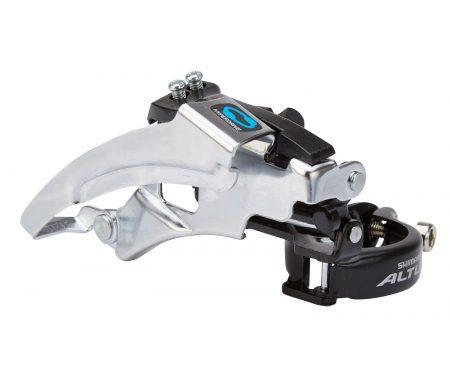 Shimano Altus – Forskifter 3 x 7 eller 3 x 8 gear til sadelrørs montering – 66-69