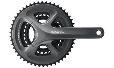 Shimano Claris – Compact kranksæt 50/39/34 tands – 170mm pedalarme