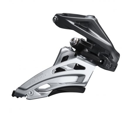 Shimano Deore – Forskifter FD-M6020-H – 2×10 34/38 tands High clamp med bånd – 28,6-34,9mm