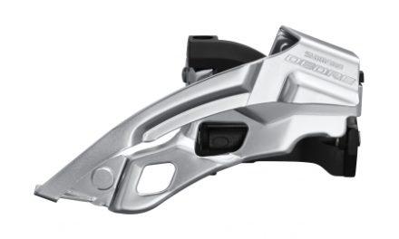 Shimano Deore – Forskifter FD-T6000-L-6 – Triple til sadelrørs montering – Top swing