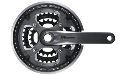 Shimano Deore – Kranksæt FC-T6010 – Triple 48-36-26 tands 175 mm pedalarme