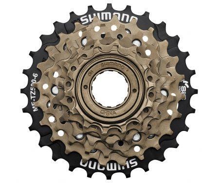 Shimano Frikrans – MF-TZ500 – 6 gear 14-28 tands med gevind