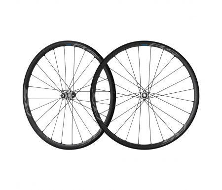 Shimano hjulsæt – 700c Road Disk Tubeless – WH-RS770-C30 med 12mm Thru aksel