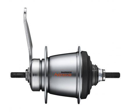 Shimano Nexus – Bagnav med 7 gear og fodbremse – Type SG-C3001-7C – Sølv
