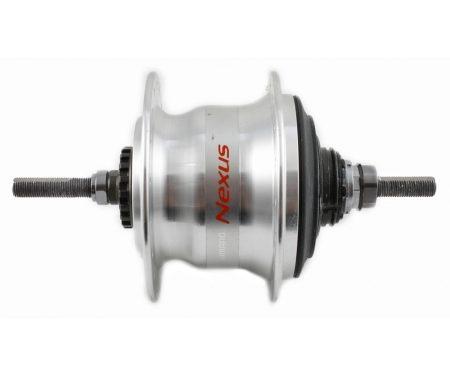 Shimano Nexus – Bagnav med 7 gear og friløb og til rullebremse – Type SG-C3000-7R – Sølv
