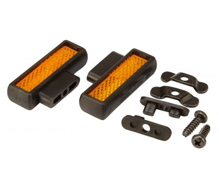 Shimano Reflektor sæt til racer pedal – SM-PD63 -PD-R9100, PD–9000, PD-7900, PD-6700C