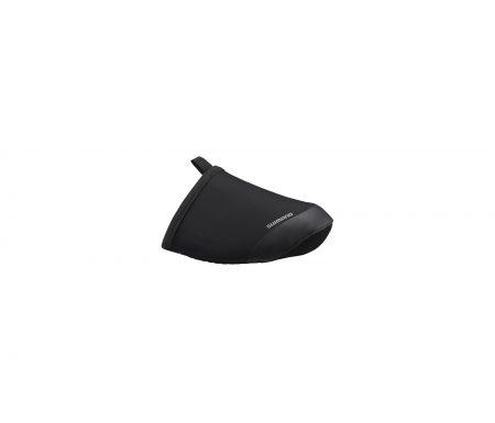 Shimano – Skoovertræk Toe vindtæt – Sort